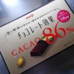【ダイエット効果を高めるチョコレートを食べてみた】カカオとポリフェノールで基礎代謝アップ!?