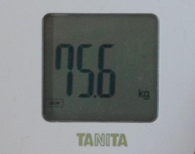 体重スタート時