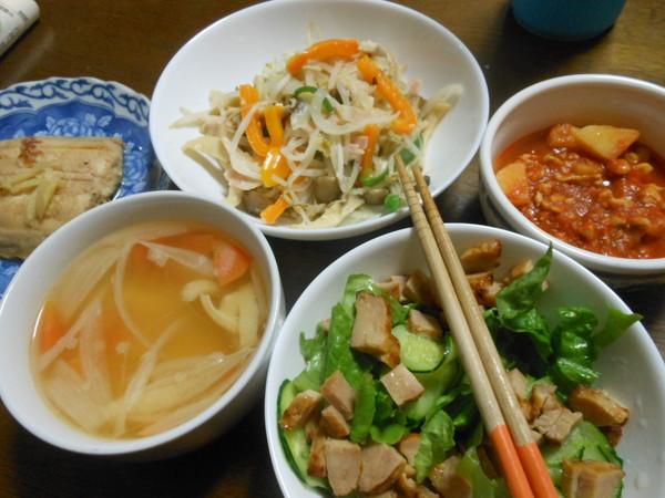 20日目の夕食